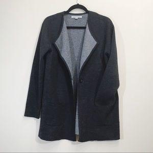 Catherine Malandrino Wool Cardigan Sweater Size XL